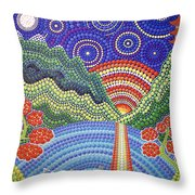 Sunset In Thailand  Throw Pillow