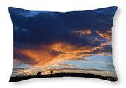 Sunset In Utah Throw Pillow