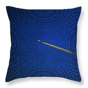 Sunset Jet In Fresco Throw Pillow