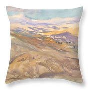 Sunset, John Singer Sargent Throw Pillow