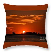 Sunset Throw Pillow by Kevin Croitz