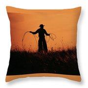 Sunset Lariat 2 Throw Pillow