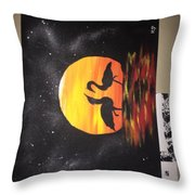 Sunset Love Throw Pillow