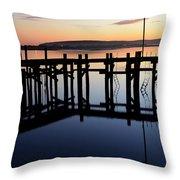 Sunset Magic Bodega Bay California Throw Pillow