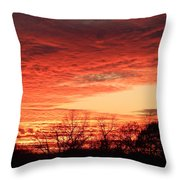 Sunset Magic Throw Pillow