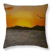 Sunset 6 Throw Pillow