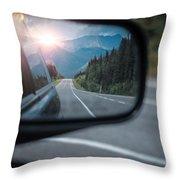 Sunset Mirror Throw Pillow