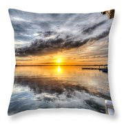 Sunset Mirroracle Throw Pillow