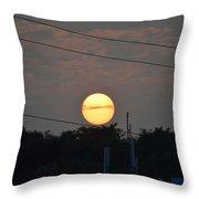 Sunset Moment Throw Pillow