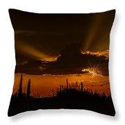Sunset No.07 Throw Pillow