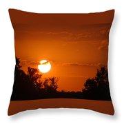 Sunset Of Charleston Sc Throw Pillow
