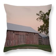 Sunset Of My Years Throw Pillow