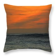 Sunset Ohau Throw Pillow
