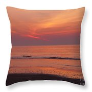 Sunset On The Gulf Throw Pillow
