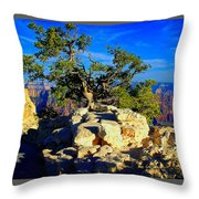 Sunset On The North Rim - Grand Canyon Throw Pillow