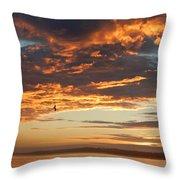 Sunset Oregon Throw Pillow