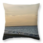 Sunset Over Gulf Of Mexico 1 Throw Pillow