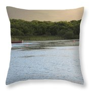 Sunset Over Killarney Throw Pillow