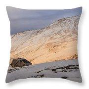 Sunset Over Lakes Of The Clouds Throw Pillow