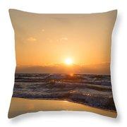 Sunset Over  Throw Pillow
