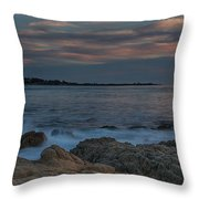 Sunset Over Point Joe Throw Pillow