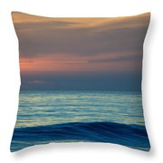 Sunset Paddle Throw Pillow