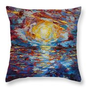 Sunset Pandora Throw Pillow