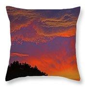 Sunset Panorama 2 Throw Pillow