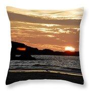 Sunset Part 3 Throw Pillow