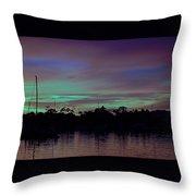 Sunset Pastels Throw Pillow