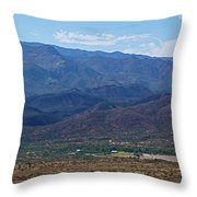 Sunset Point View Throw Pillow