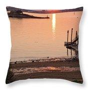 Sunset, Portland, Maine  -07817 Throw Pillow