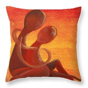 Sunset Rainbow Soul Collection Throw Pillow