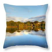 Sunset Reflections On The Lake Throw Pillow