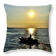 Sunset Ride Throw Pillow