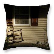 Sunset Rocker Throw Pillow