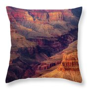 Sunset Scar Throw Pillow