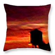 Sunset Se Throw Pillow