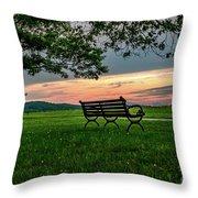 Sunset Seating Throw Pillow