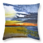 Sunset Serenade Throw Pillow