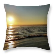 Sunset Serenity Throw Pillow