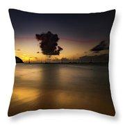 Sunset Shadows Throw Pillow