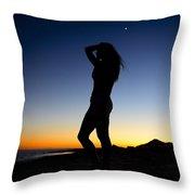 Sunset Silhouette #1 Throw Pillow