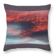 Sunset Skies 052814c Throw Pillow