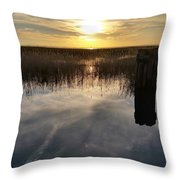 Sunset St Clair  Throw Pillow