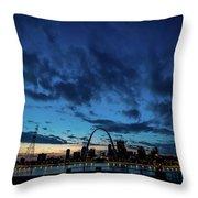 Sunset St. Louis IIi Throw Pillow