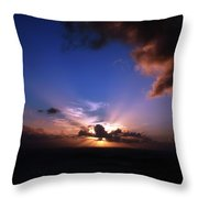 Sunset St. Thomas Throw Pillow