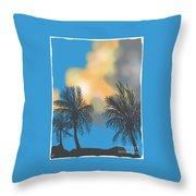 Bermuda High Throw Pillow