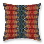 Sunset Strip Tiled Throw Pillow