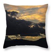Sunset Study 5 Throw Pillow
